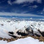View on top of Mt Elbert