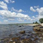 Harkness' beach.