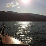 Vindo do Consultório no Bonete ao fundo praia da Fortaleza-Ubatuba