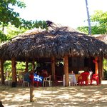 Restaurant sur la Route de Las Galeras