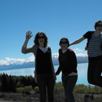 Lake Pukaki 40mins from our motel