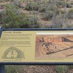 wayside, Pueblo Bonito, Chaco Culture NHP, Sep 2013