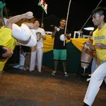 Capoeira for Noite Brasileira in Kuching by Movimento Simples De Capoeira Malaysia & Sarawak