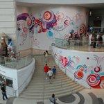 The lobby..