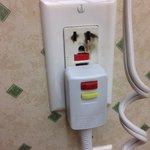 Burnt plug.