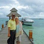 Leaving via private yacht transfer