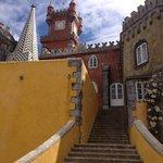 Escadas no Palácio de Pena
