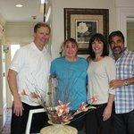 Luke, Cheryl and us