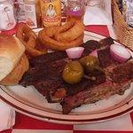 Three Rib Small Dinner Plate, Smokin' Joe's