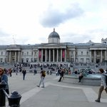 National Gallery seen from Trafalgar Square