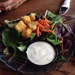 Fresh side salad