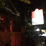 Resturant entrance