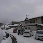 View outside Yoshidaya