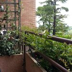 very small, but very lovely balcony
