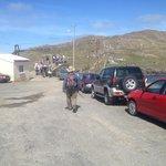 Rental cars on the island