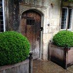 Front door of the Old Parsonage