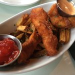 Fish n Chips - you have to try these! Perfectly seasoned chips and batter to die for!