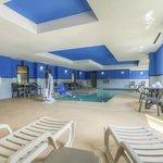 Indoor Pool Seating