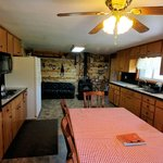 Kitchen view of vacation home rental