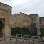 Caen Castle Walls