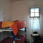 a 4 beds dorm