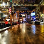 Iron Door Saloon - the bar