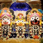 Beautiful Jagannath Balram & mother Subhadra of ISKCON NVCC Temple