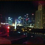 View from the rooftop bar