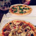 Vegetarian Pizza & Pizza Primavera