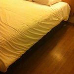 lit propre /sol sale pas de tapis