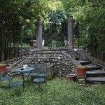Romatische Ecke im Garten