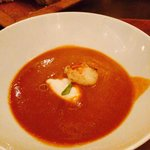 Lobster bisque with cream
