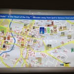 Ipoh map of attractions