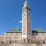 La più importante Moschea di Casablanca.
