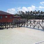 low tides in Maratua Paradise Resort