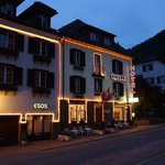 A charming evening of Esso Quelle Hotel and Bad Ragaz