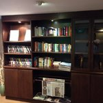 Deluxe floor books and DVD movies library
