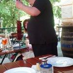 Fleischgang am Tisch