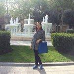 Площадь фонтанов_у фонтана