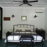 The room give its vintage feel