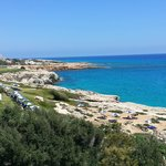 View from the hotel, towards Cavo Greco