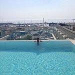 Marina manzarasi eşliginde mukemmel bi keyifti:)