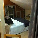 Bedroom, Very low ceiling