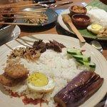 Nasi Cobek: spicy but very delicious! 😍