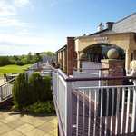 Terrace overlooking the Golf Course
