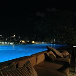 Night Pool Area