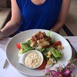 Chicken ceaser salad