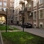Hotel Anabel, Cortile, S.Pietroburgo