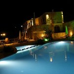 Zouridi Villa at night
