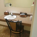 Extra Room..a spare basin and gorgeous chair